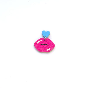 Lips & Heart - Mix & Match - Stud Fitting