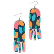 Load image into Gallery viewer, Play - Birch Plywood Earrings (multiple colour choices)