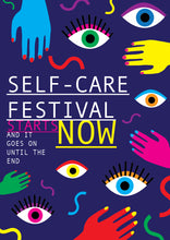 Load image into Gallery viewer, Self-Care Festival Poster