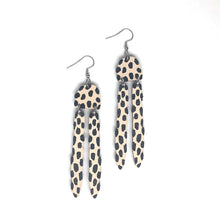 Load image into Gallery viewer, Vision -Birch Plywood Earrings(multiple colour choices)