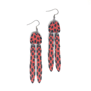 Vision -Birch Plywood Earrings(multiple colour choices)