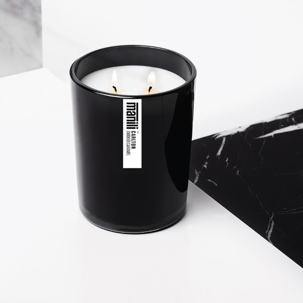 CARLTON — Smoked Caramel signature candle