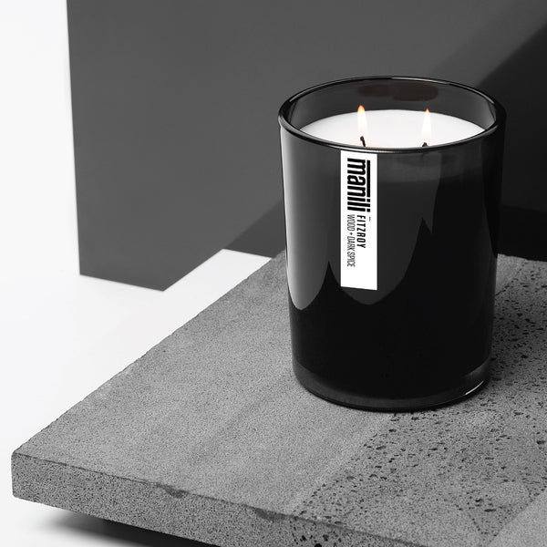 FITZROY — Wood + Dark Spice signature candle