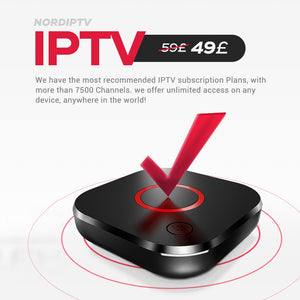 12 Months IPTV Subscription - Limited Offer