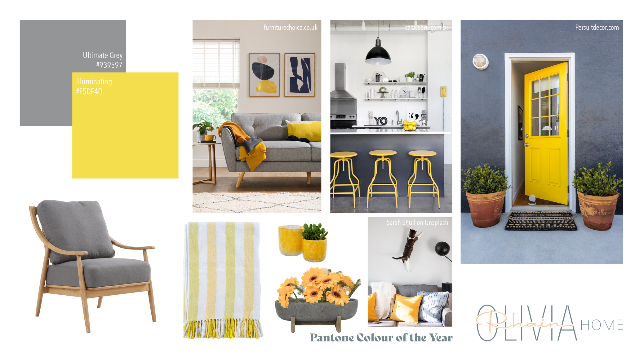 Pantone's Colour of the Year Mood Board