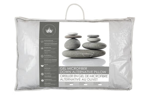 Gel Microfiber Alternative Pillow