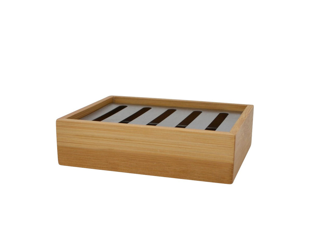 Bamboo Bathroom Soap Dish