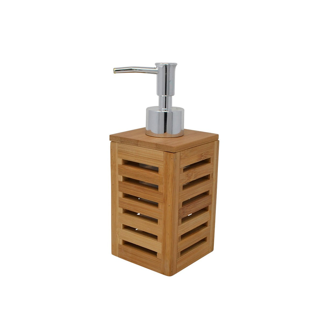 Bamboo Bathroom Soap Pump