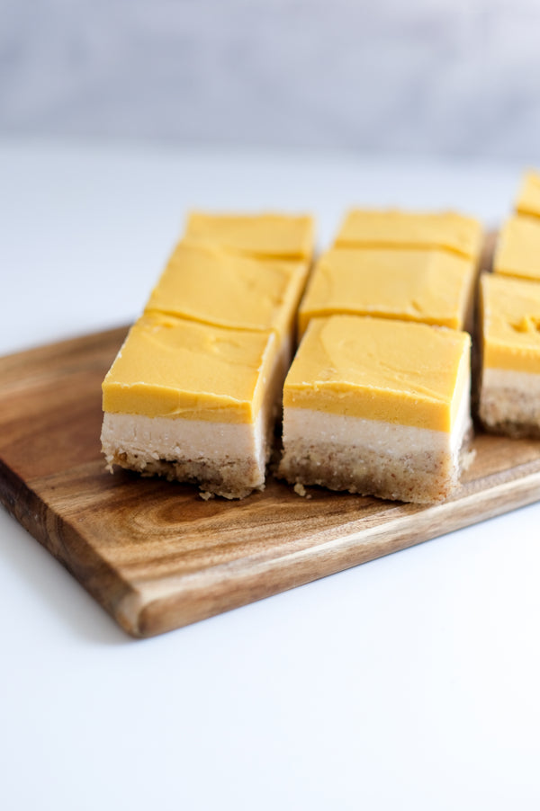 Tropical Coconut Mango Bars
