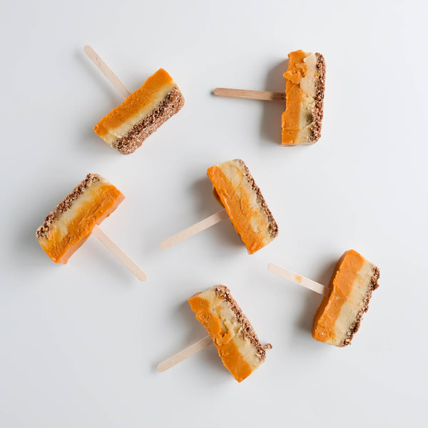 Nicecream Pumpkin Slice Pops