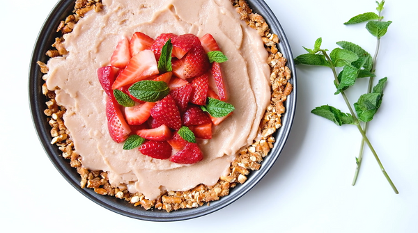Vegan Nicecream Pretzel Pie
