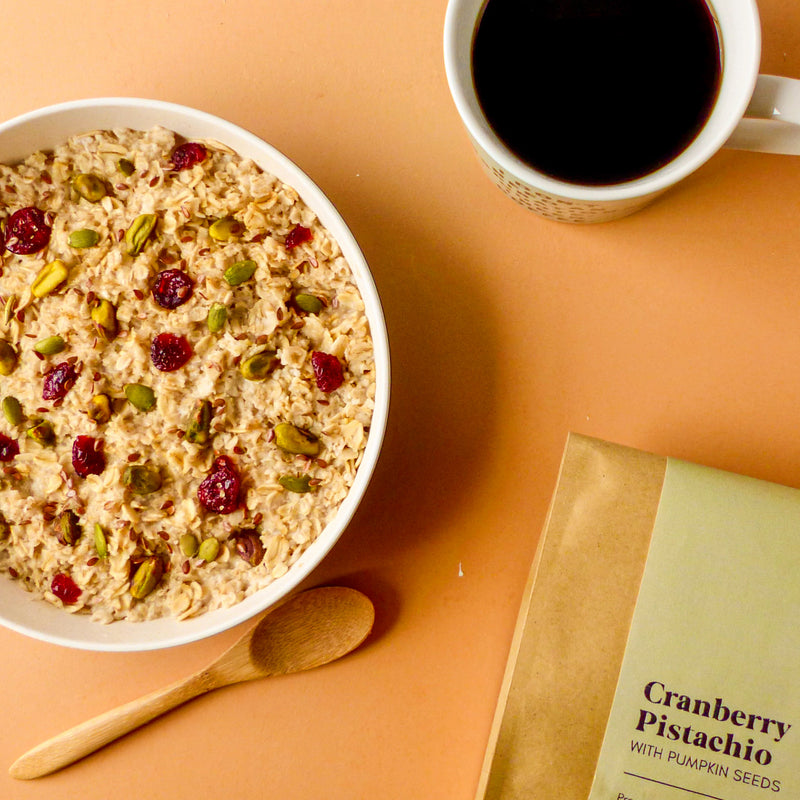 Cranberry Pistachio - Fruitful Oatmeal