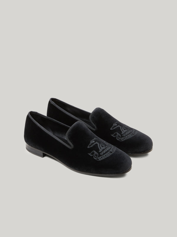 The Connaught Hand-Embroidered Male Slippers
