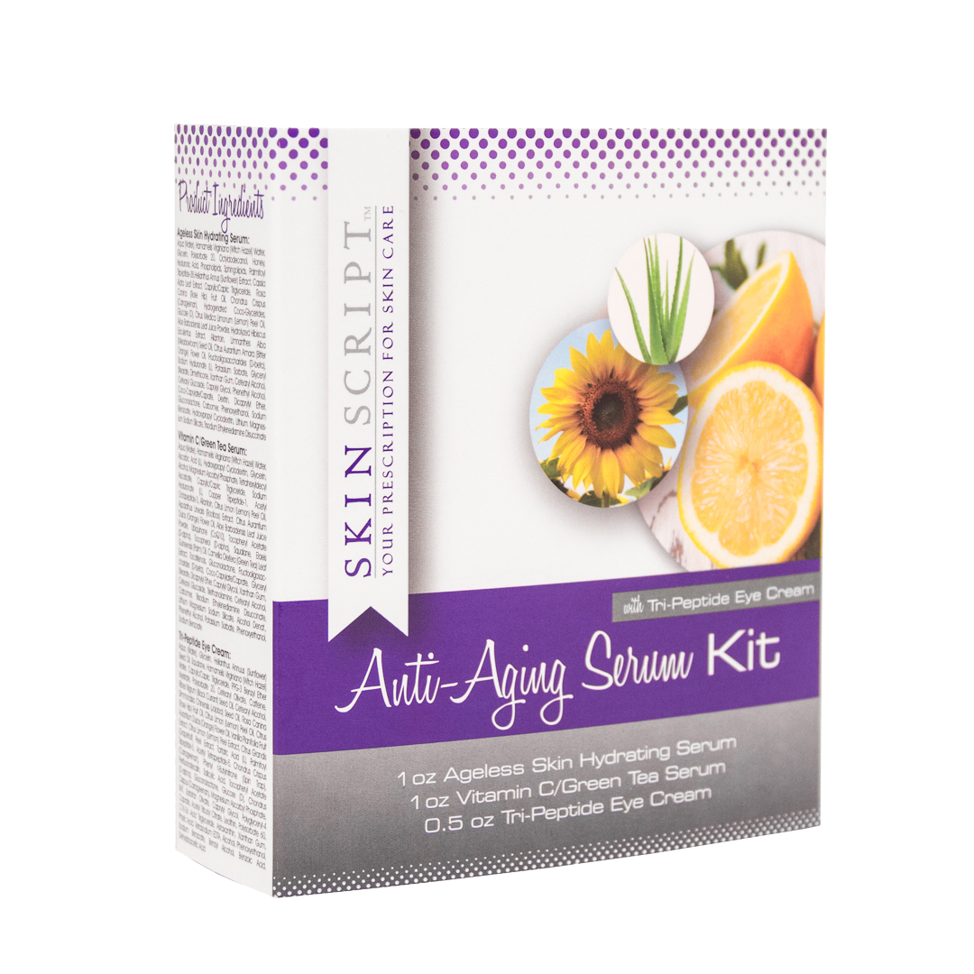 Anti-aging Serum Kit with cream