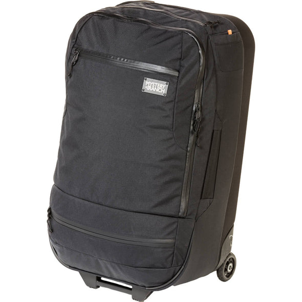 Mystery Ranch Mission Wheelie Suitcase (black) Front Zip Pockets
