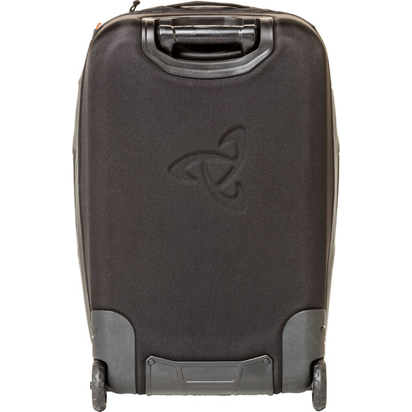Mystery Ranch Mission Wheelie Wheeled Suitcase (black) Rear View