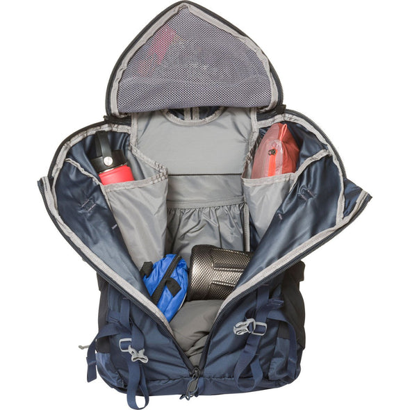Mystery Ranch Scree 32 Overnight Day Pack (Galaxy) Open