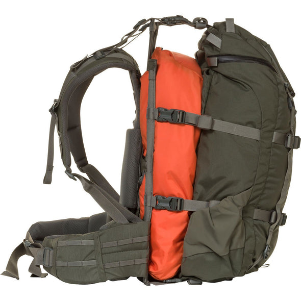 Mystery Ranch Pintler Overnight Backpack (Foliage) with Overload Feature