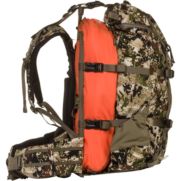 Mystery Ranch Pintler Overnight Backpack (Optifade Subalpine DPM Camo) with Overload Feature