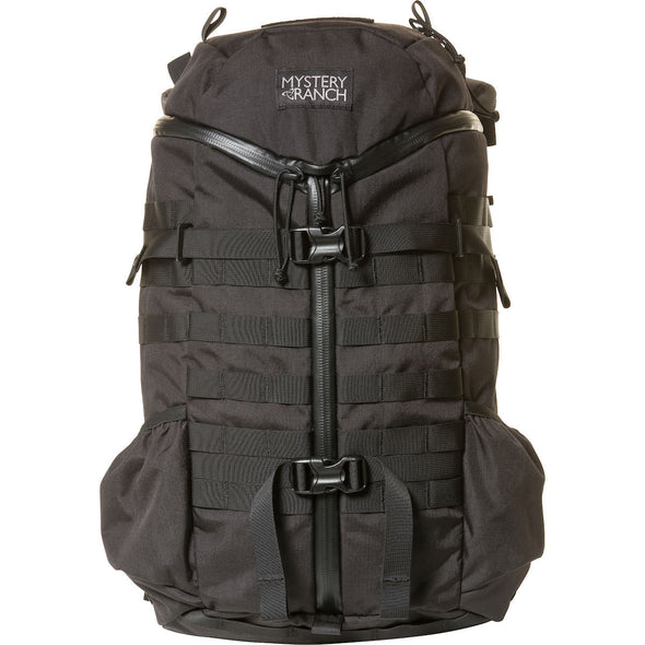 Mystery Ranch 2-Day Assault Day Pack Black – Front View