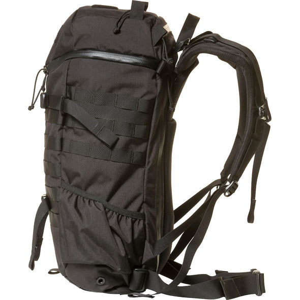 Mystery Ranch 2-Day Assault Day Pack Black – Side View