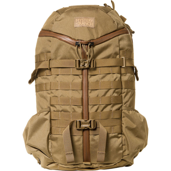 Mystery Ranch 2-Day Assault Day Pack Coyote – Front View
