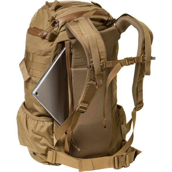 Mystery Ranch 2-Day Assault Day Pack Coyote – Rear View