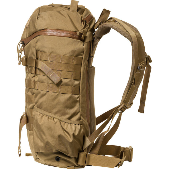 Mystery Ranch 2-Day Assault Day Pack Coyote – Side View