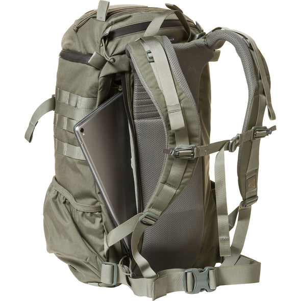 Mystery Ranch 2-Day Assault Day Pack Foliage – Rear View