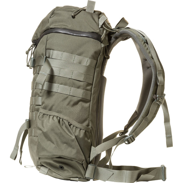 Mystery Ranch 2-Day Assault Day Pack Foliage – Side View