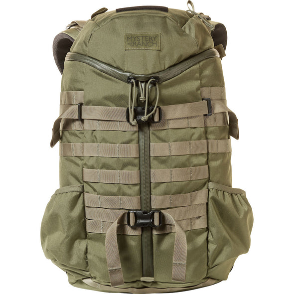 Mystery Ranch 2-Day Assault Day Pack Forest – Front View