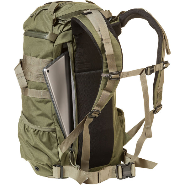 Mystery Ranch 2-Day Assault Day Pack Forest – Rear View