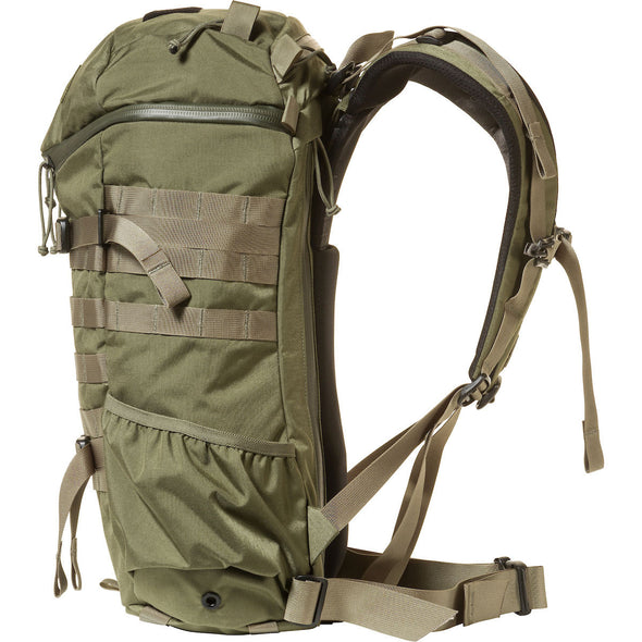 Mystery Ranch 2-Day Assault Day Pack Forest – Side View