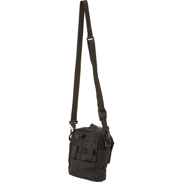 Mystery Ranch Big Bop Shoulder Travel Bag (Black) Rear View