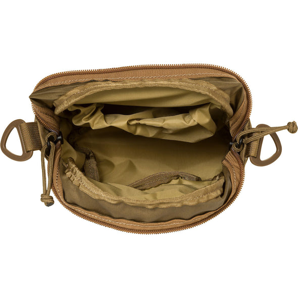 Mystery Ranch Big Bop Shoulder Travel Bag (Coyote) Interior View