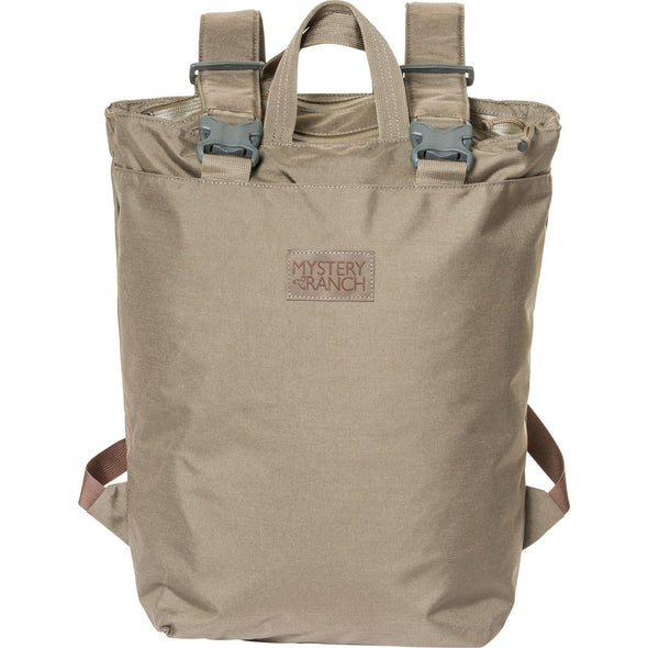 Mystery Ranch Booty Deluxe Tote Day Pack (Wood) Front View