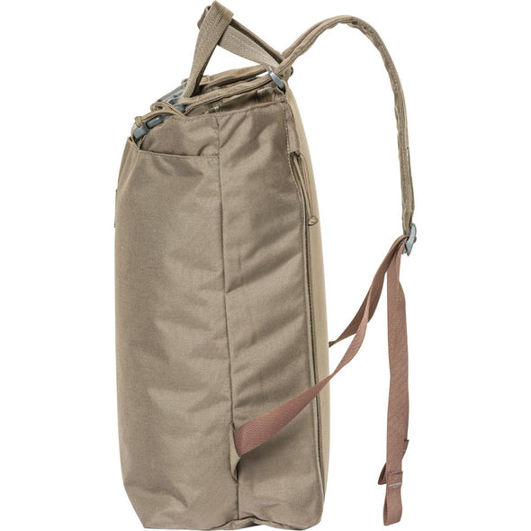Mystery Ranch Booty Deluxe Tote Day Pack (Wood) Side View