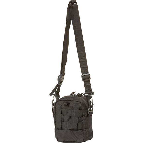 Mystery Ranch Bop Shoulder Travel Bag (Black) Rear View
