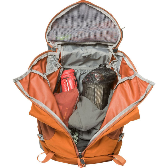 Mystery Ranch Coulee 25 Day Pack (Adobe Orange) Open