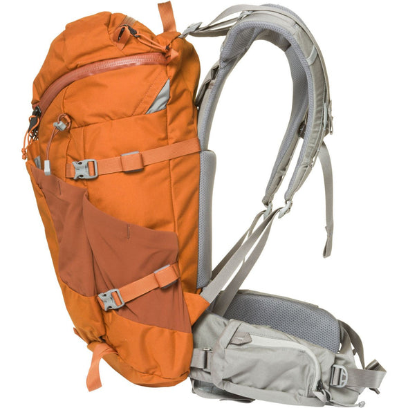 Mystery Ranch Coulee 25 Day Pack (Adobe Orange) Side View