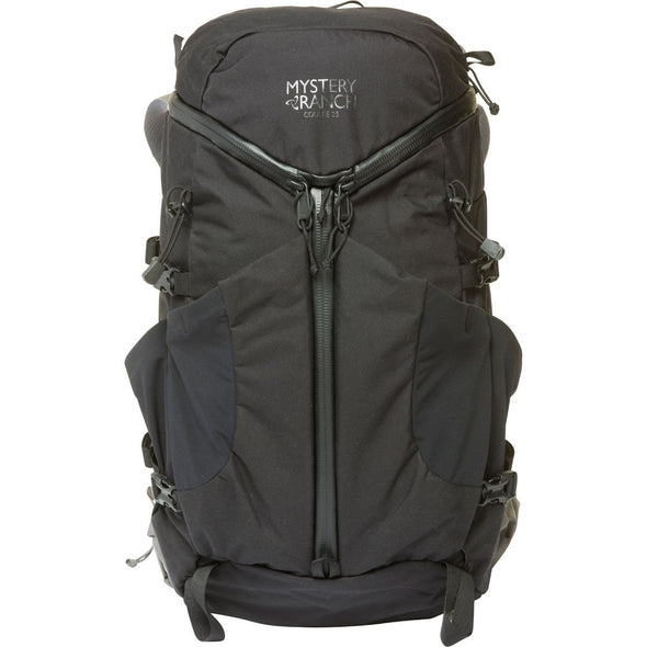 Mystery Ranch Coulee 25 Day Pack (Black) Front View