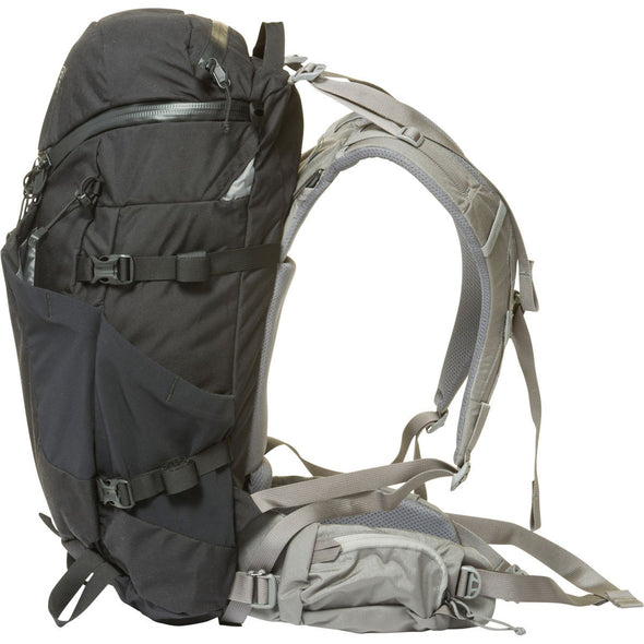 Mystery Ranch Coulee 25 Day Pack (Black) Side View