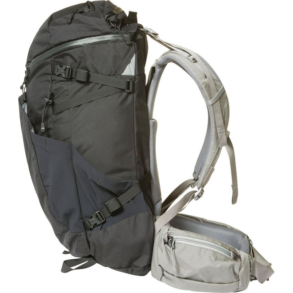 Mystery Ranch Coulee 40 Rucksack (Black) Side View