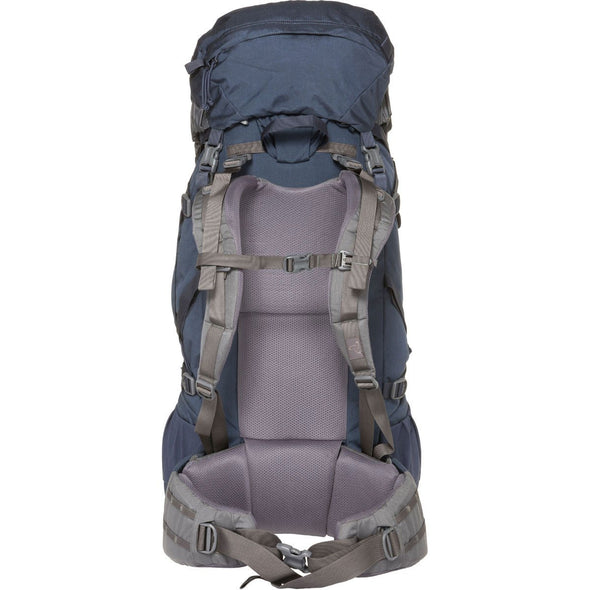 Mystery Ranch Glacier Rucksack (Galaxy) Rear View with Harness