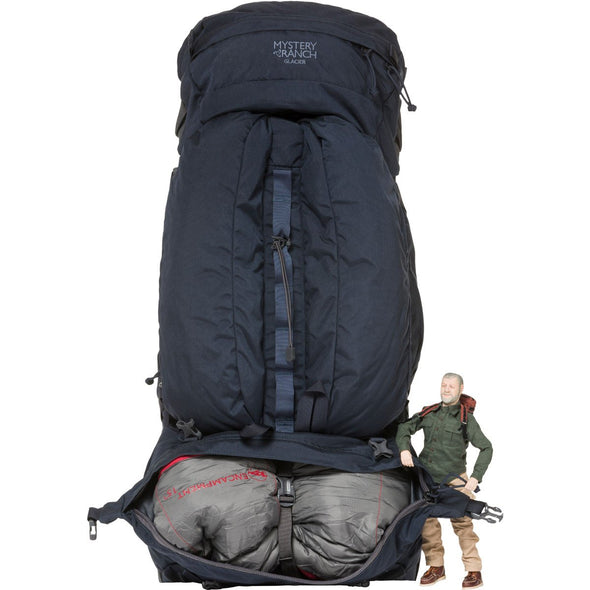 Mystery Ranch Glacier Rucksack (Galaxy) Sleeping Bag Compartment
