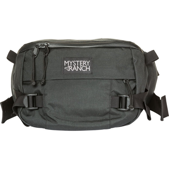 Mystery Ranch Hip Monkey Waist Pack (Black) Front View