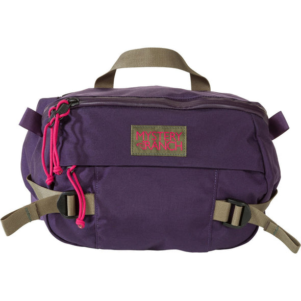 Mystery Ranch Hip Monkey Waist Pack (Eggplant) Front View