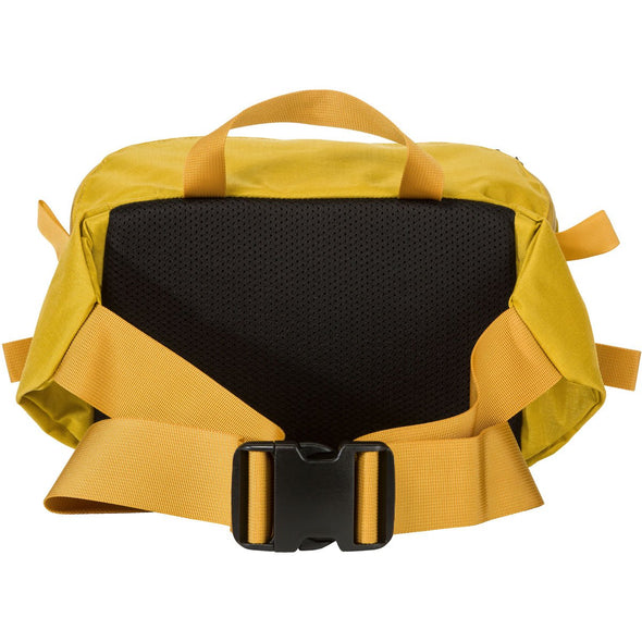 Mystery Ranch Hip Monkey Waist Pack (Lemon) Rear View with Belt