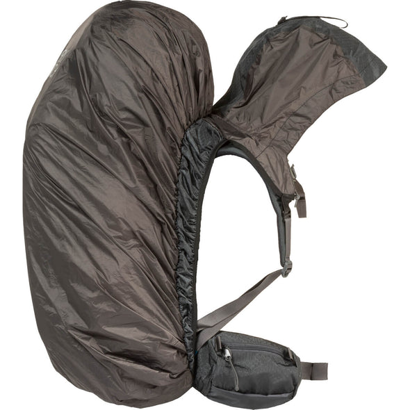 Mystery Ranch Hooded PackFly Waterproof Backback Cover with Integrated Hood Side View