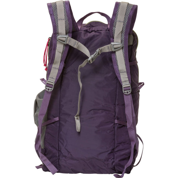Mystery Ranch In and Out Day Pack (Eggplant) Rear View